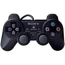 PS-2 Wired Dualshock Remote Controller for Playstation-2 Generic (BLACK)