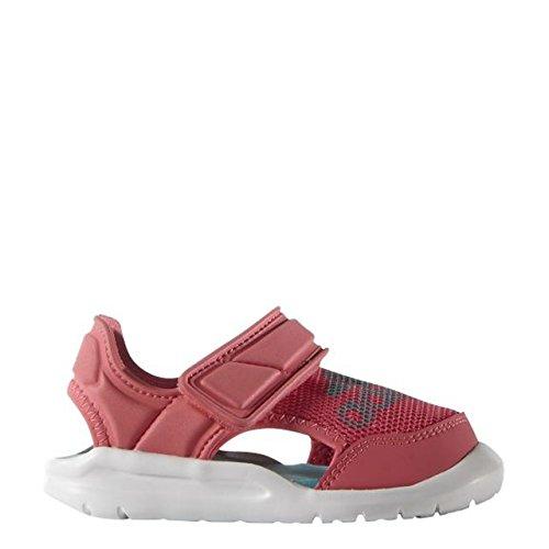 adidas Kinder Badelatschen Flex Zee Swim Sandale, rosa, 21, AF3896