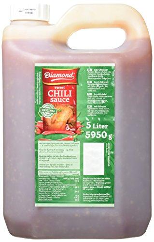 Diamond Süße Chilisauce für Huhn, 1er Pack (1 x 5 kg Kanister) (Süße Chili Sauce Für Huhn)