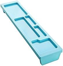 Okayji Plastic Computer Keyboard Space Saving Storage Holder, Random Color