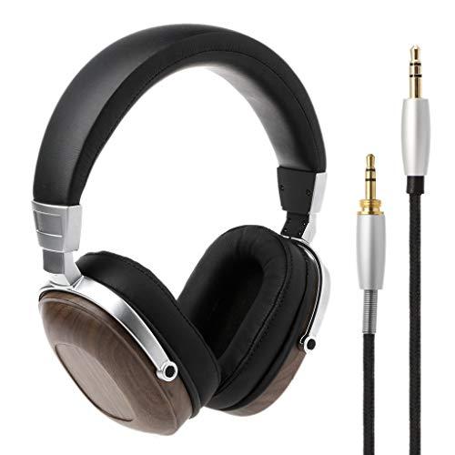 Enyu BOSSHIFI B8 Stereo-Kopfhörer, Mahagoni, Schwarz -