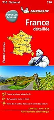Carte France détaillée : 1/800 000 Michelin