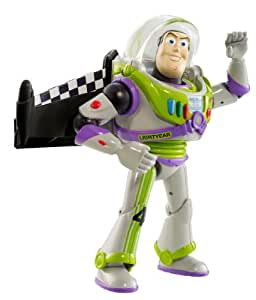 Toy Story - RC's Course Figurine - Buzz Lightyear avec des ailes Turbo
