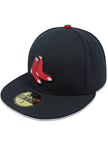 New Era Boston Red Sox Authentic 59FIFTY Fitted MLB Cap ALT, 7 3/8
