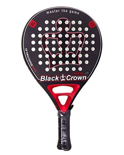 Pala De Padel Black Crown Mort