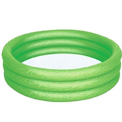 Bestway Gonfiabile Bambini Colorato Piscina Per Bambini Bambini Acqua Attività Divertente Gioco - Verde, 3 anelli - 152 x 30cm