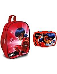 Preisvergleich für Miraculous Ladybug Rucksäcke + Miraculous ladybug Snackbox
