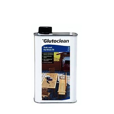 Glutoclean Teak und Hartholz Öl 1,000 L von UNKWN bei Du und dein Garten