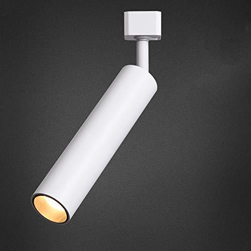 Kleine LED-Wandstrahler aus Walnuss, die blendfreie Langrohr-Schienenstrahler für Hotels mit LED-Catering anbieten -