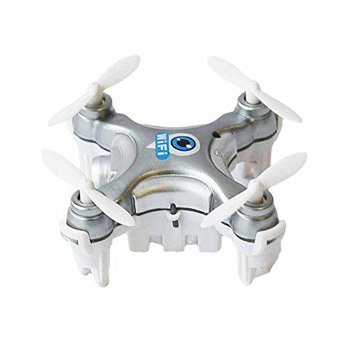 Cheerson CX-10W-TX 2.4G 4CH 6 iOS/Android App WiFi-Fernbedienung RC FPV Echtzeit Video Mini Quadcopter Hubschrauber Drone UFO mit 0.3MP HD Kamera - Tx Wifi