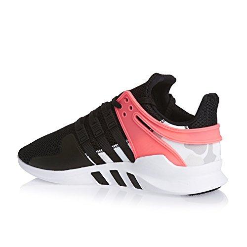 adidas Equipment Support Adv, Scarpe da Ginnastica Basse Uomo black/turbo