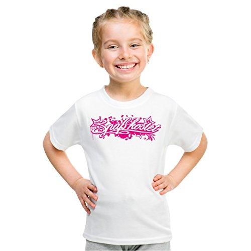 Kinder T-Shirt Spaß Kostet Pink Star Weiß