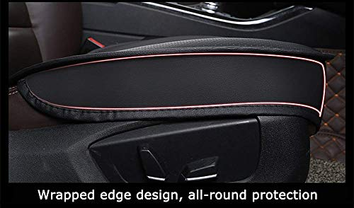 HRF0HLHY Cuscino per seggiolino Auto//Coprisedile Anteriore a 9 Pezzi Anteriore e Posteriore a 5 Pezzi//Compatibile con la Serie Renault,Beige,CAPTUR
