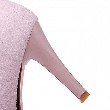 Moda Donna Sandali Sexy donna tacchi Primavera / Autunno / Inverno Novità sintetico brevetto / Cuoio / LeatheretteWedding / Ufficio & Carriera / Party & sera abito / Pink