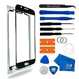 MMOBIEL Front Glas Reparatur Set für Samsung Galaxy S6 G920 Series (Schwarz) Display Touchscreen mit Werkzeug-Set