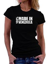 Teeburon 100 made in Venezuela Camiseta Mujer