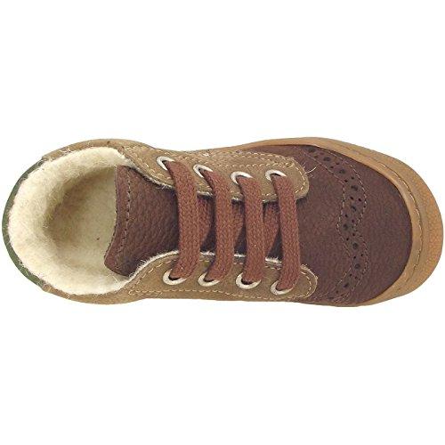 Naturino 4151, Chaussures d'hiver petit enfant brun (moro/topo/pino)