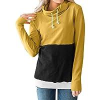 Damen Sweatshirt,Geili Damen Herbst Shirt Frauen Pullover Frauenhemd Lässiges Hemd Mode Frauen Casual Color Block... preisvergleich bei billige-tabletten.eu