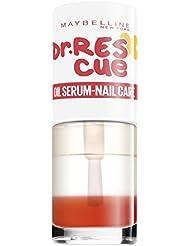 Maybelline Dr. Rescue Oil Serum, 3-Phasen-Intensivkur, pflegt Nägel und Nagelhaut, versorgt sie mit Feuchtigkeit und bringt einen gesunden Glanz auf die Nägel, 7 ml