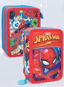 Safta Estuche Escolar Spiderman Graphic Art Oficial 220x30x100mm