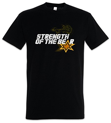 BRAVESTARR STRENGTH OF THE BEAR T-SHIRT - TV Serie Series Tex Hex New Texas Größen S - 5XL (XXXL) (Texas A&m-jersey-material)