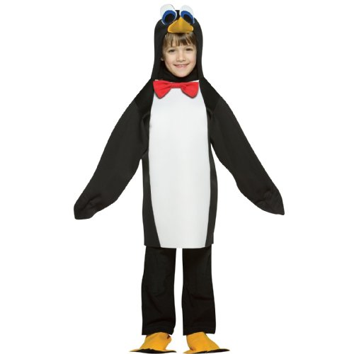 Rasta Imposta 32488 Pinguin Kinderkostüm - 86-122 - Rasta Imposta Pinguin Kostüm