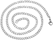 925 Sterling Silver Necklace Chain 4 mm For Men/Unisex
