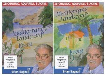 Mediterrane Landschaft Kreta, 2 DVDs
