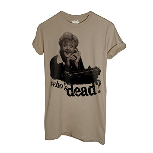 T-Shirt SIGNORA FLETCHER TELEFONO. WHO IS DEAD - FILM by Mush Dress Your Style - Uomo-L-Sand