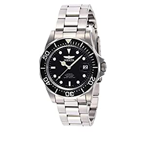 Invicta 8926 Pro Diver Unisex Wrist Watch Stainless Steel Automatic Black Dial
