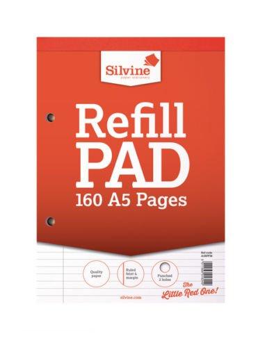 Silvine Refill Pad A580Blatt FTM a5rpfm-t-6Pack