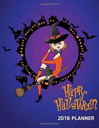 2018 Happy Halloween Planner: Happy Halloween Party Trick or Treat Planner. Plan Decoration Party Prop, Haunted House Plan Activities, Halloween ... Notes. 8.5