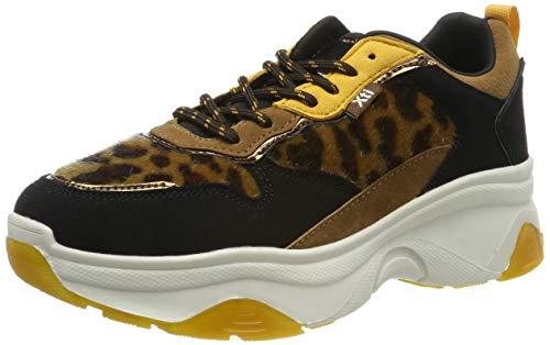 XTI Damen 49277 Sneakers, Gelb Panama, 37 EU
