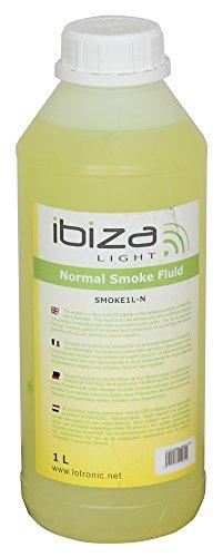 Ibiza SMOKE1L-N Fluid für Nebelmaschine, Schwarz