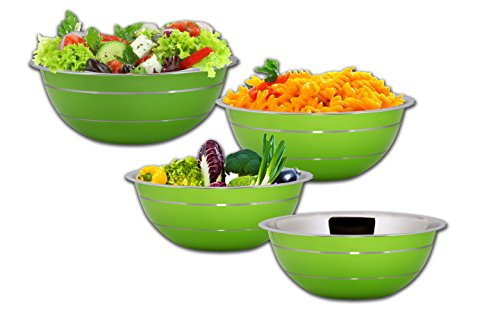 kosma-set-of-4-stainless-steel-mixing-bowl-salad-bowl-in-green-colour-exterior-and-mirror-finish-int