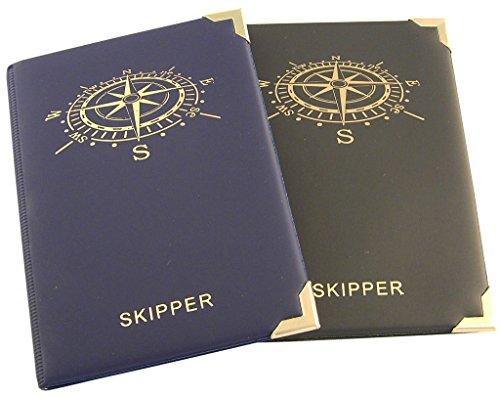Skippermappe Motiv Kompass schwarz