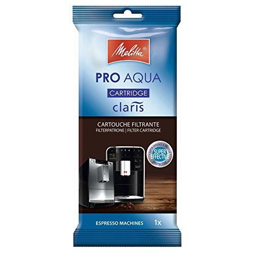 Melitta 192830 Filterpatrone für Kaffeevollautomaten | Pro Aqua | Vorbeugung von Verkalkung | Einfache Anwendung | 1 Patrone (Kaffeemaschine-wasser-filter)