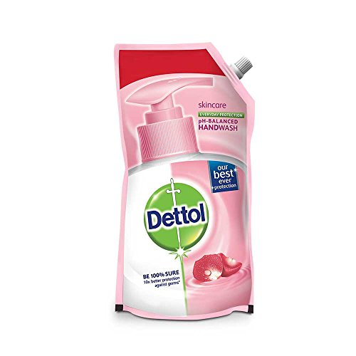 Dettol pH Balanced Liquid Handwash Refill Pouch, Skincare - 800 ml with Rs 61 off
