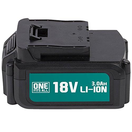 Powerplus Akku 18 V Li-Ion 3,0 Ah Ersatzakku für alle Geräte der One Fits All Serie -