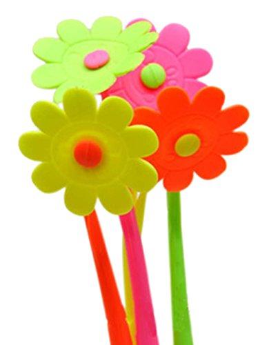 Set von 12 schöne Blume-Gel-Feder mit Fragrance (Farbe Random)