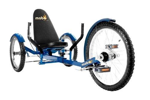 "MOBO Cruiser ""Triton Pro"" Liegefahrrad Dreirad - Blau"