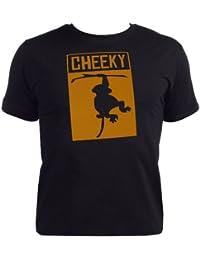 Baby Buddha - Cheeky Monkey Baby T-Shirt Bio-baumwolle & Geschenkkarton