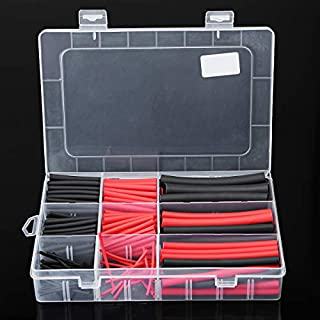 ChaRLes 270Pcs Heat Shrink Wire Tube Kabel Tubing Dual Wall Adcve Lined Ratio 3:1 Set