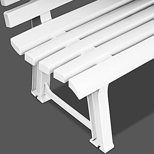 PANCHINA ORCHIDEA BIANCA,145 x 49 x 74, Weiß - 2