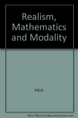Realism, Mathematics and Modality