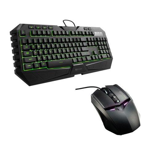 CoolMaster Storm Octane SGB-3020-KKMF1-US Tastiera e Mouse da Gaming, Nero