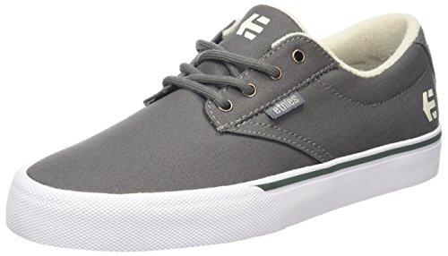 Etnies Jameson Vulc, Zapatillas de Skateboard para Hombre, Gris (Grey/Green), 45 EU
