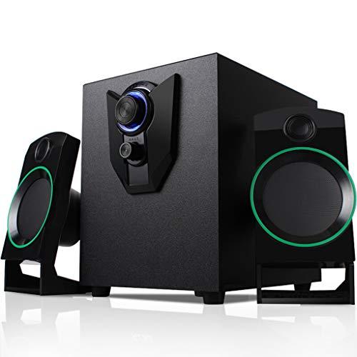 Equipo Altavoz Audio Subwoofer Active Audio 2.1 Reproductor de música de Escritorio...
