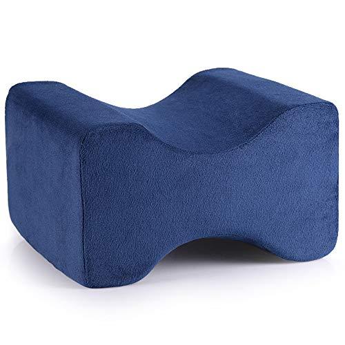 Zvivi Kissen Explosionsgedächtnis Baumwolle Kissen Kissen Multifunktionale Legging Kissen Slow Rebound Kissen,Blue (Aufzug Keil)