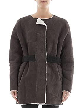 Isabel Marant Giacca Outerwear Donna MA027817A001I50BW Pelle Marrone